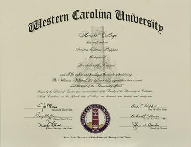 Honors Diploma