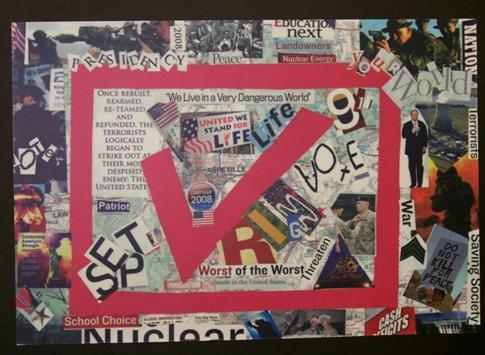 Art The Vote collage