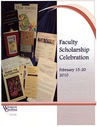 Faculty Scholarship Celebration 2010 book showcase