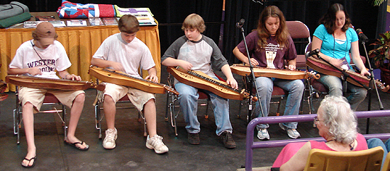 Young Dulcimer Players