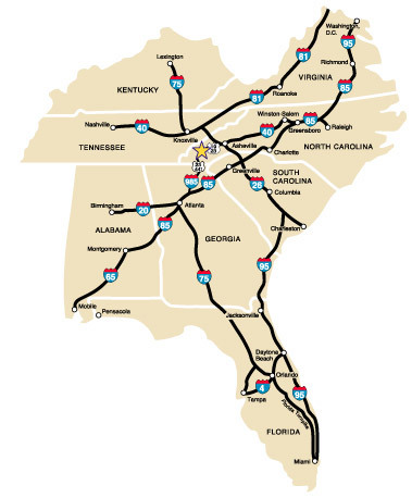 I Map Uptowncritters Drive Everybody Needs A Good Road Trip Oh - Map of i 40 across us