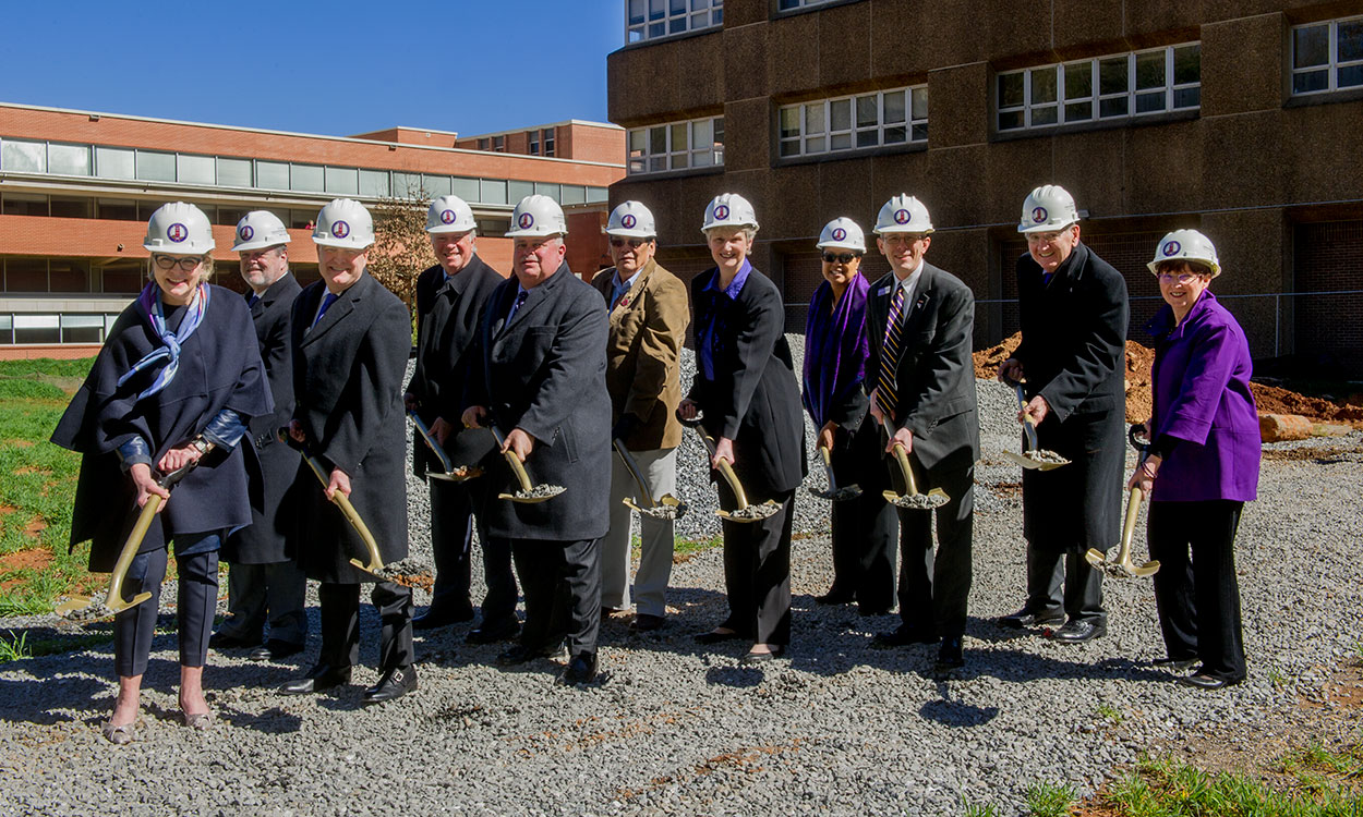 Groundbreaking on the Apodaca Science Building