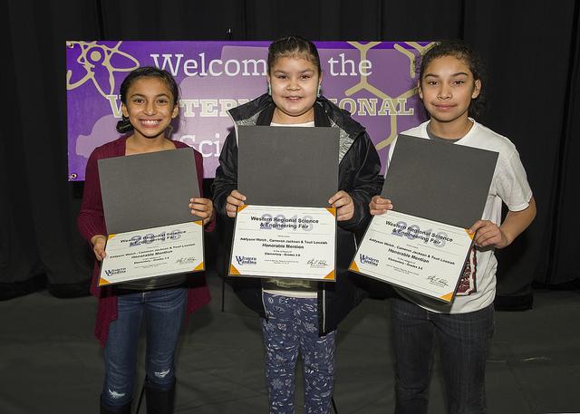 Science Fair Winners 2020.Western Carolina University Region 8 Western Regional