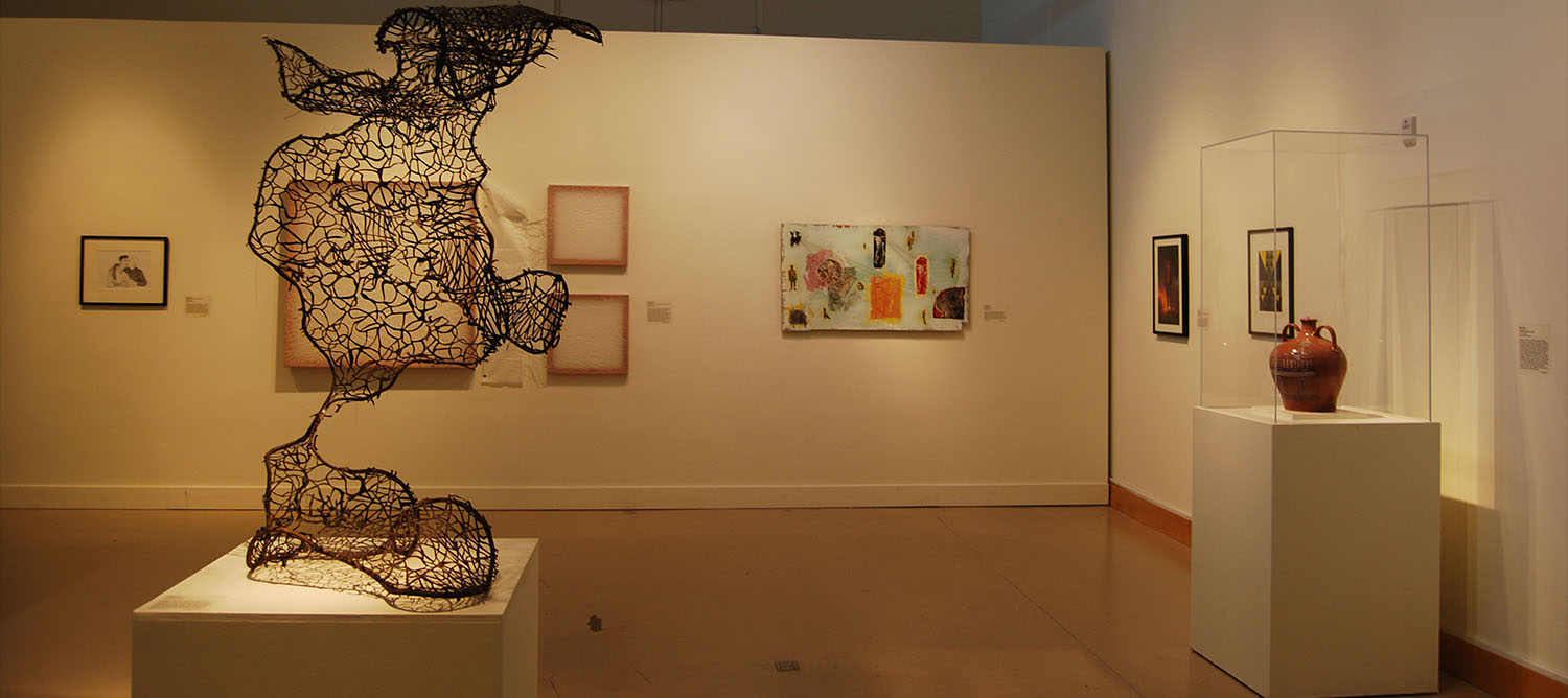 Installation view of the 51st Annual Juried Undergraduate Exhibition