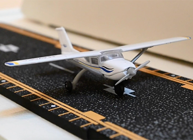 Curious Terrain Airplaine