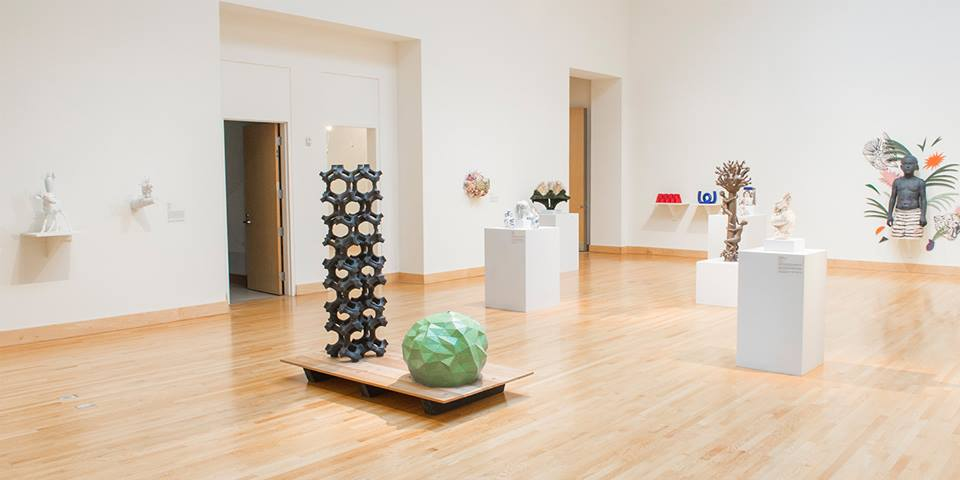 Gallery shot from the Contemporary Clay: A Survey of Contemporary American Ceramics, Fall 2016