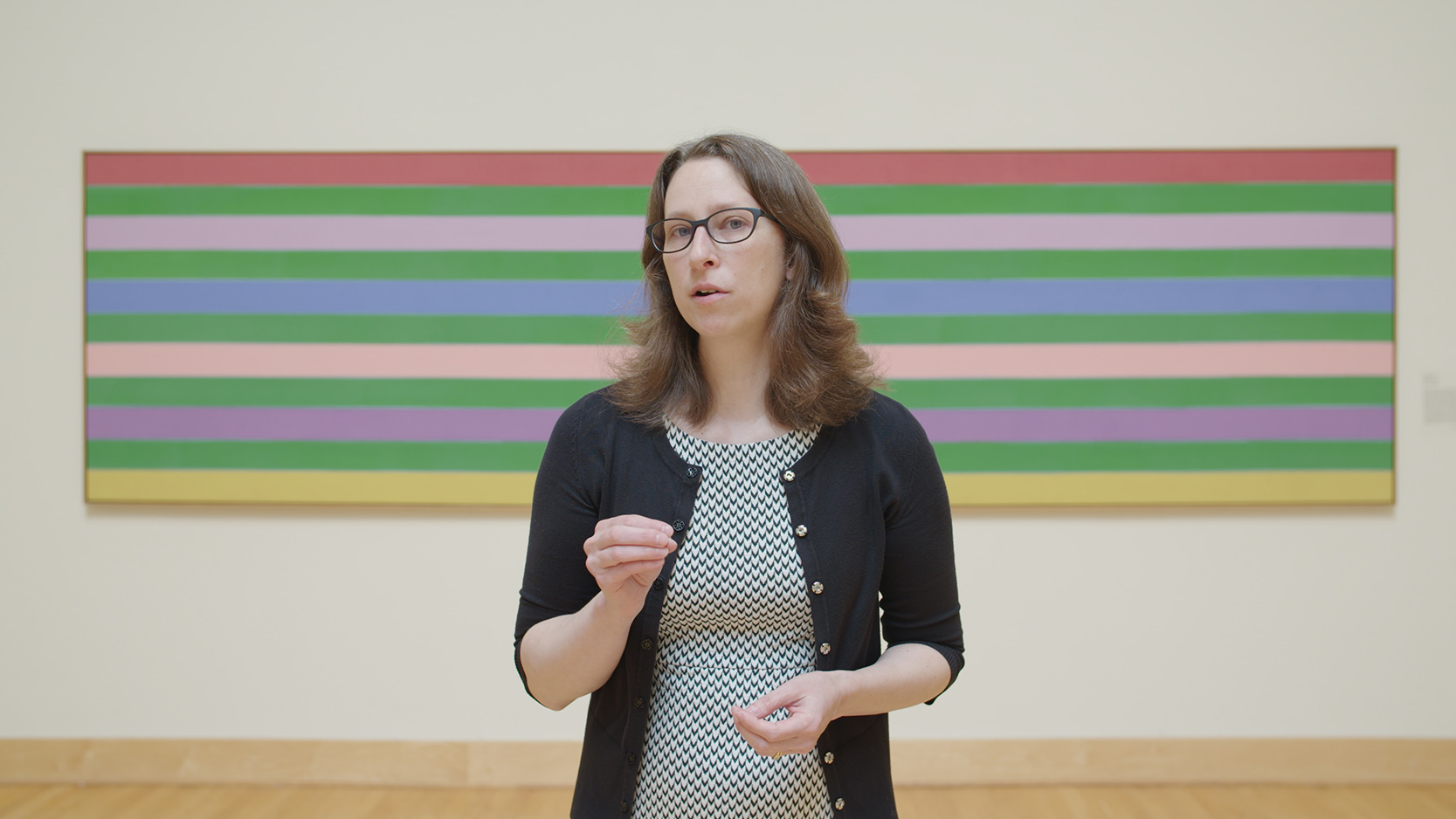 Carolyn Grosch, Curator of the WCU Fine Art Museum