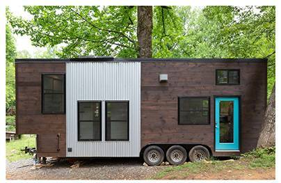 Erin Adams, Tiny House, Architectural and Interior Design, 2018. Image: Matthew Turlington Photography