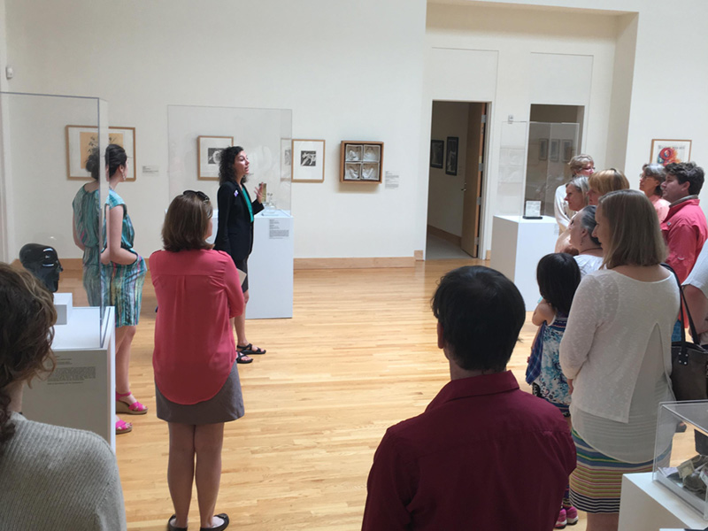 Museum tour led by Denise Drury Homewood, BAC Executive Director