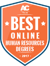 Voted one of the best online Human Resources Degree Program
