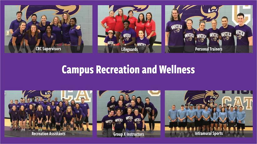Western Carolina University - Campus Recreation Student Employment