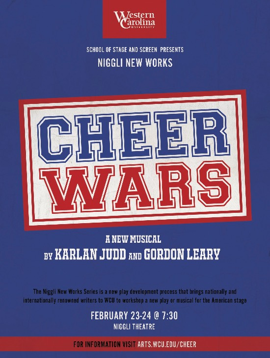 Cheer Wars from the WCU School of Stage & Screen