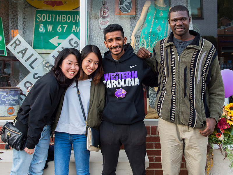 Exchange Students from Around the World