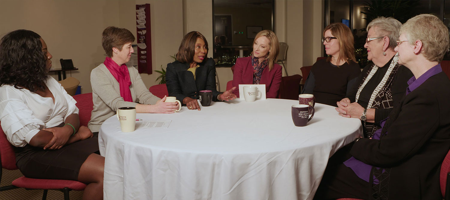 Picture of the Diversity round table discussions