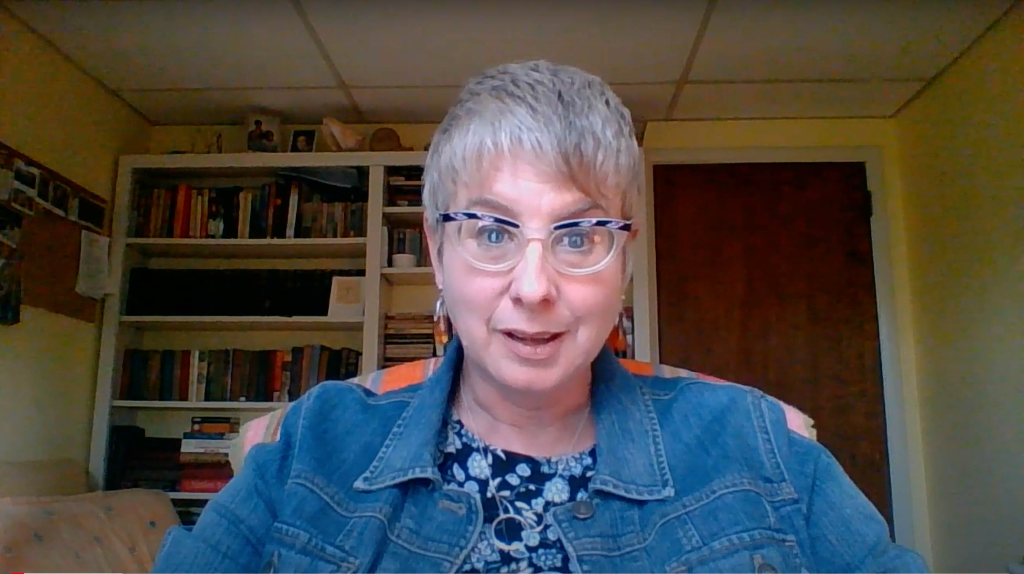 A screenshot of Catherine Carter from this video