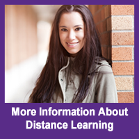 More Info About Distance Learning