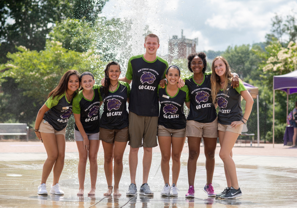 A image of orientation leaders