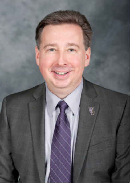 Head shot of Sam Miller, Vice Chancellor of Student Affairs