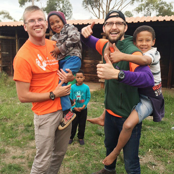 Students take their role in Samaritan's Feet mission to South Africa
