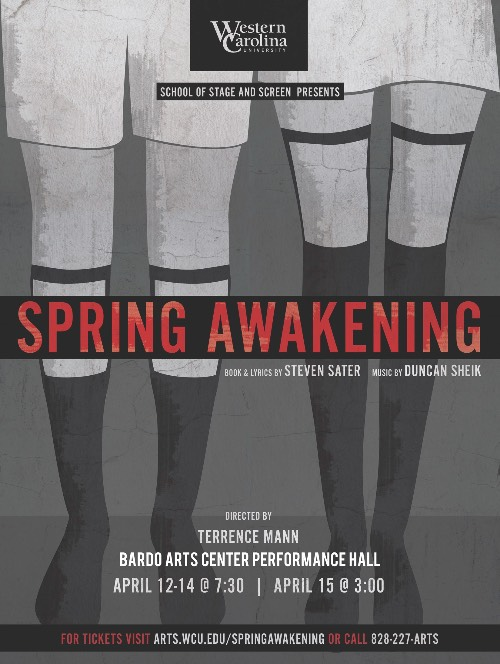 Spring Awakening from the WCU School of Stage & Screen