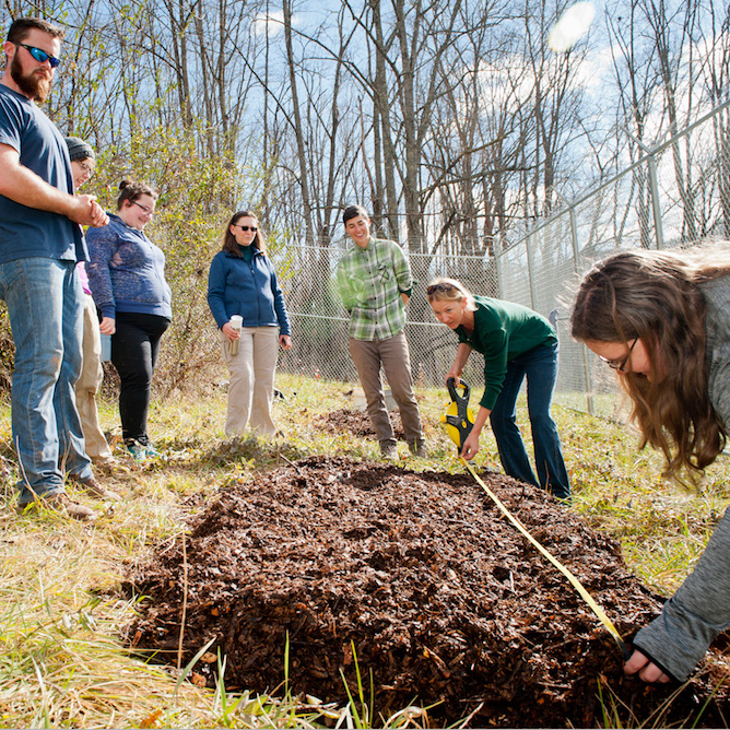 WCU students, faculty work with Katrina Spade