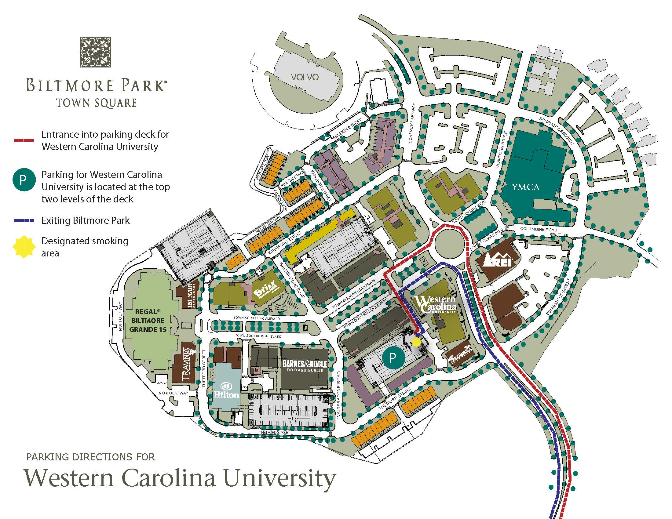 Western Carolina University   Directions and Parking
