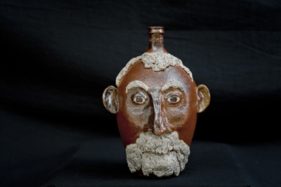 Lewis J. Smith Face Jug