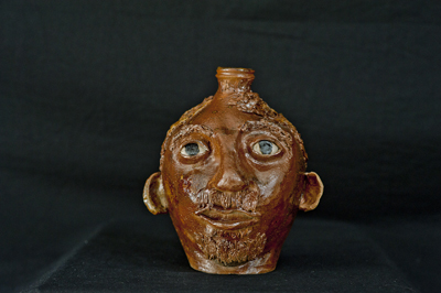 Thomas A. Cox Face Jug - click to see larger image