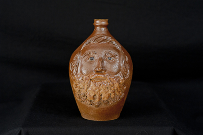 William M. Wilson Face Jug