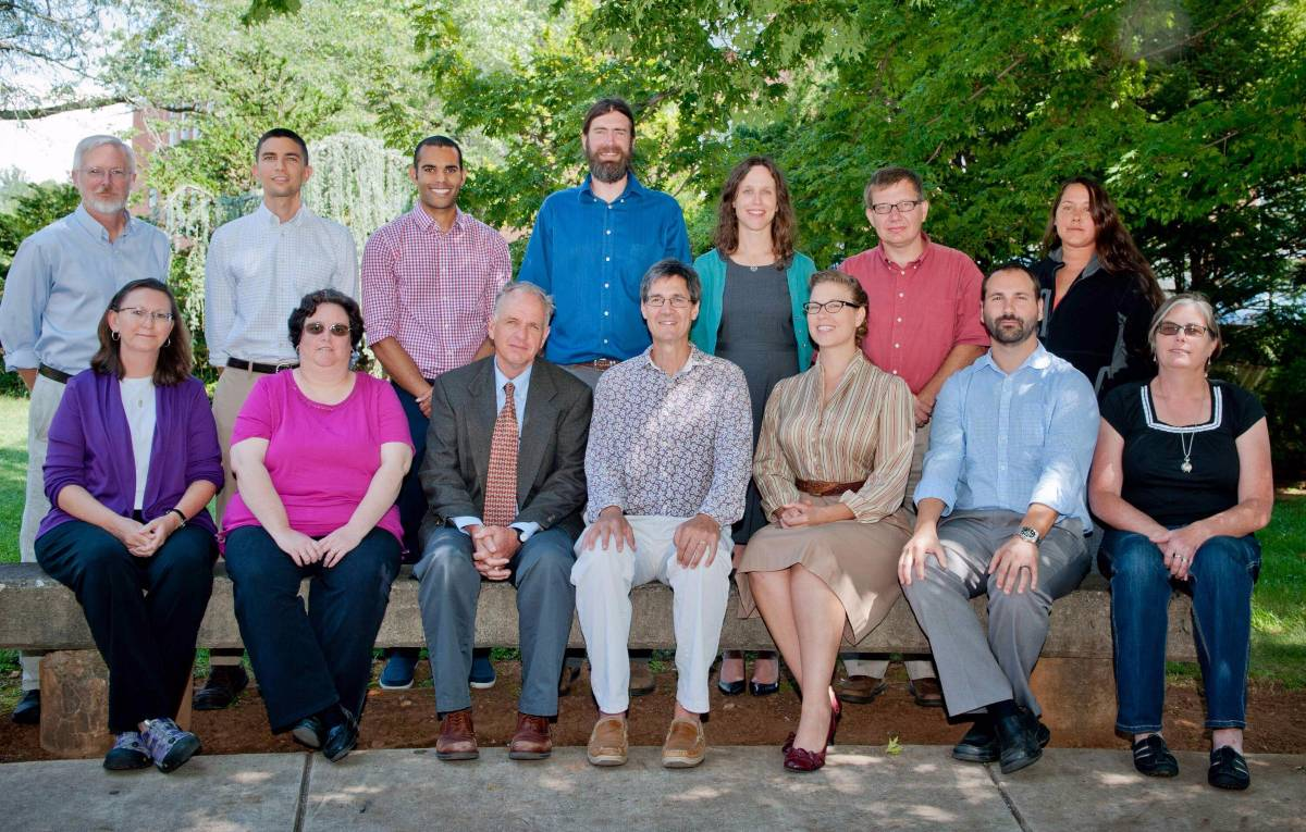 faculty group picture