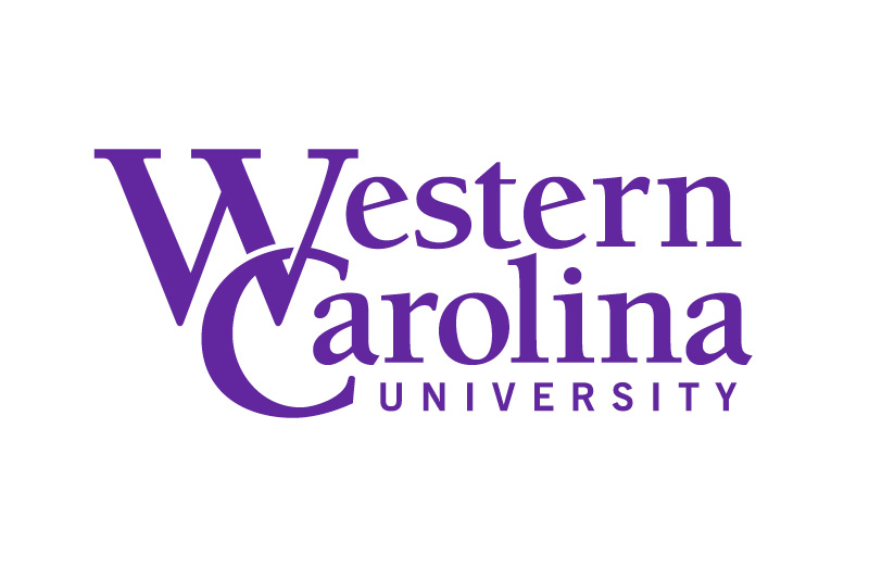 WCU logo in purple on white background