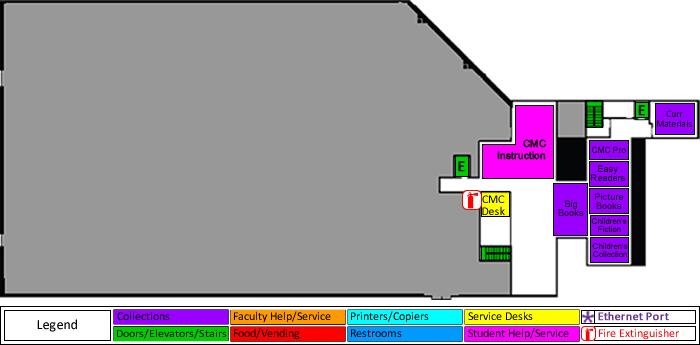 Curriculum Materials Center (Upper Mezzanine)