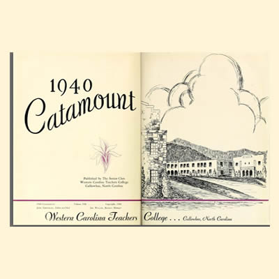 1940 Catamount Yearbook