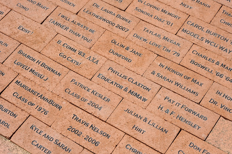 Legacy Walk bricks