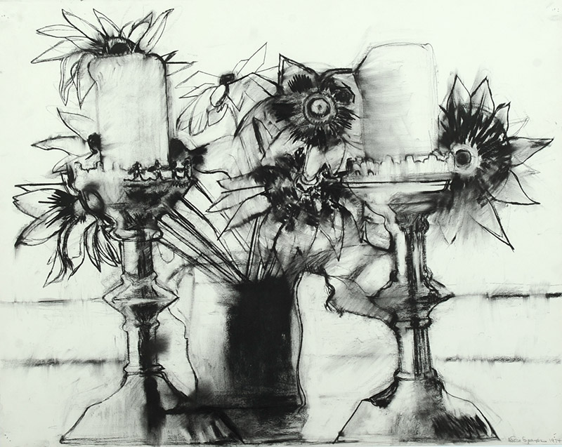 Nora Speyer , American  Untitled, 1974  Charcoal on paper, 23 x 29 inches  Gift of the Artist