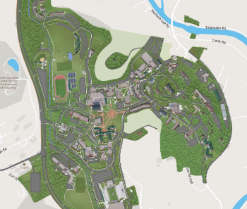 Western Carolina University Campus Map