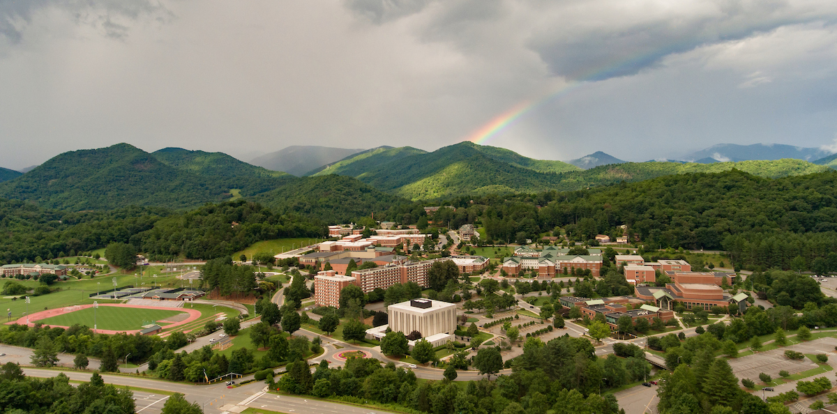 Aerial of Cullowhee