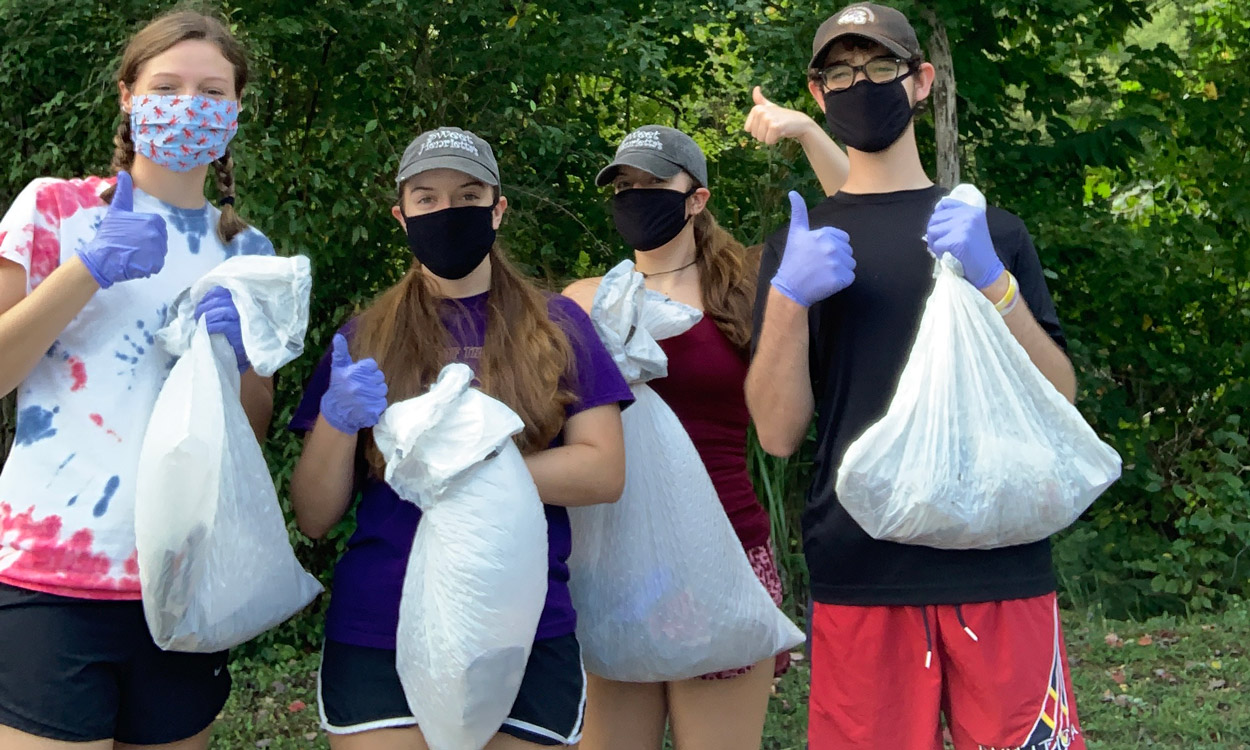 tuck river cleanup '20