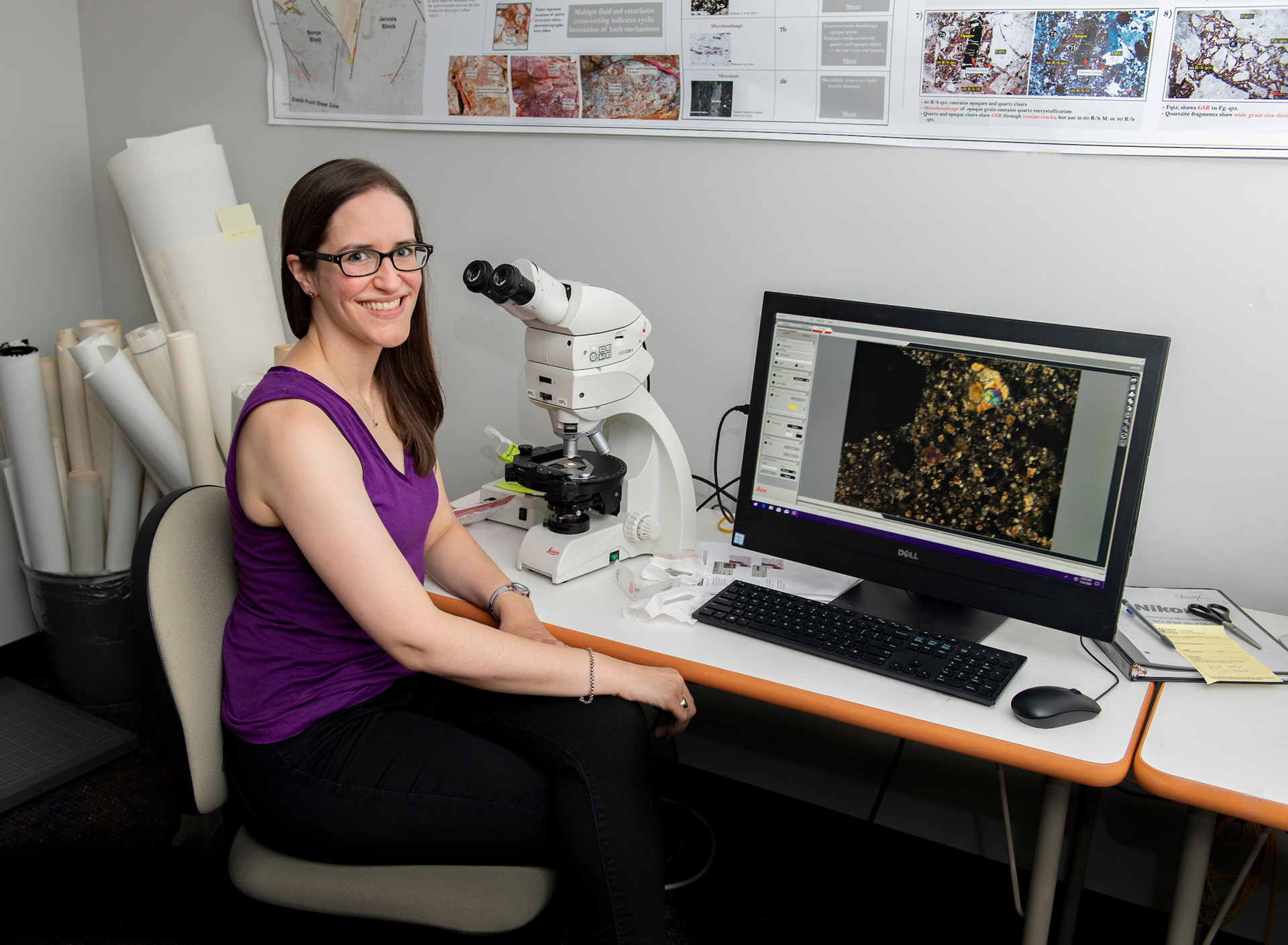 Amy Fagan, associate professor of geology at Western Carolina University,