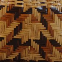 Diagonal basket pattern