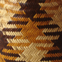 Flowing water basket pattern