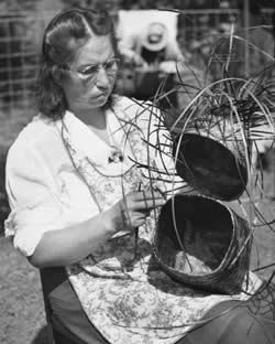 Cherokee Traditions | People | Lottie Stamper