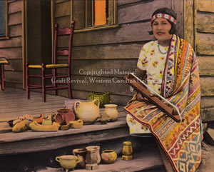Cherokee Traditions | People | Cora Arch Wahnetah