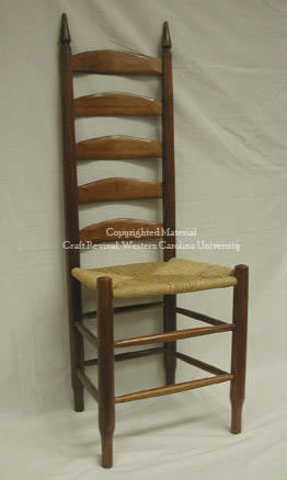 Slat Back Chair By Max Woody