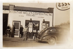 Mountain Valley Creamery was one of a number of agricultural cooperatives established by the Campbell Folk School