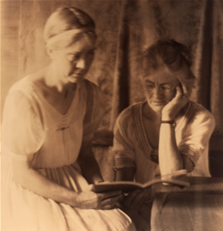 Marguerite Butler and Olive Campbell