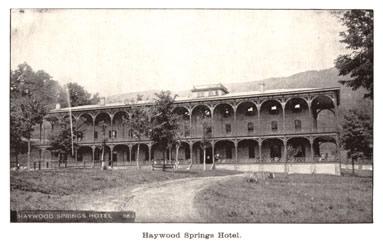 Waynesville Haywood Springs Hotel