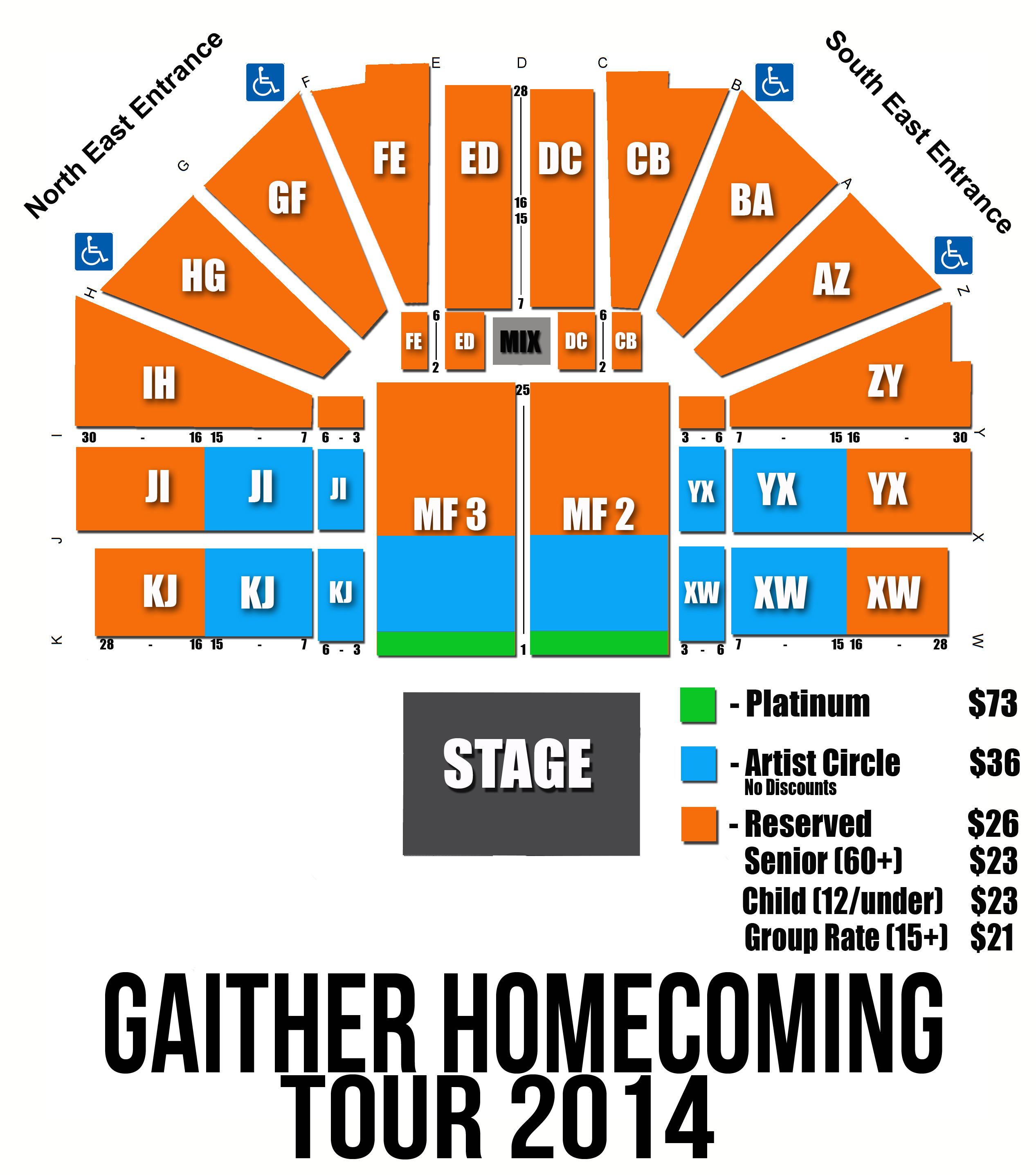 Gaither Seating