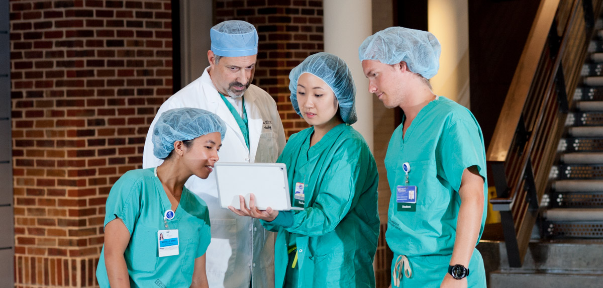 Anesthesiology students